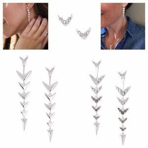Stella & Dot Arrow Drop Earrings